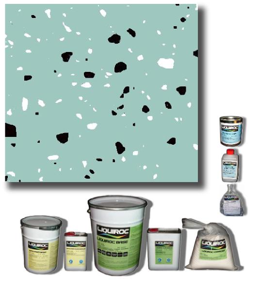 Bleu givr paillettes bicolores - Peinture murale avec paillettes ...